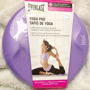 🆕 Sealed Yoga Knee Pad Mat by Everlast